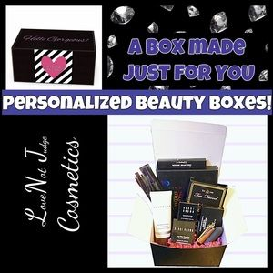 Other - Personalized Makeup Beauty BoX-  values vary!